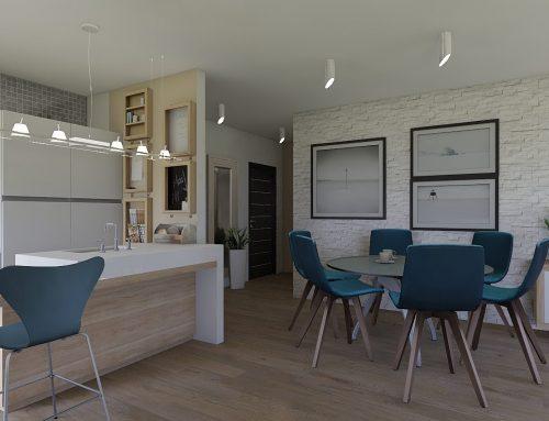 Idejno rješenje interijera trosobnog stana